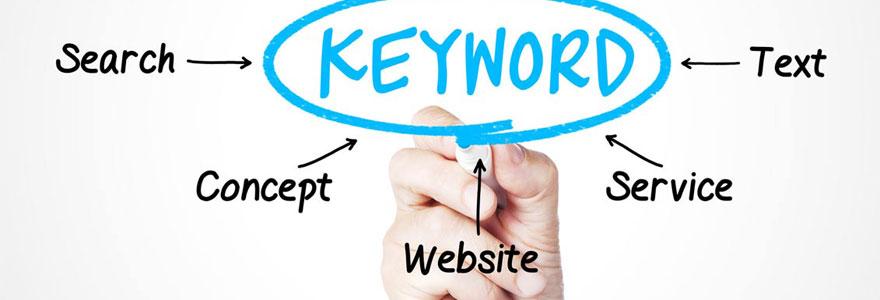 site web sur mots clés